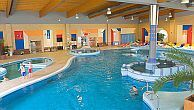 Hotel Azur in Siofok with huge indoor and outdoor pools, jacuzzi