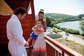 Hotel room with panoramic view at Banki Lake in Hungary - Lake Wellness Hotel Bank only one hour far away from Budapest