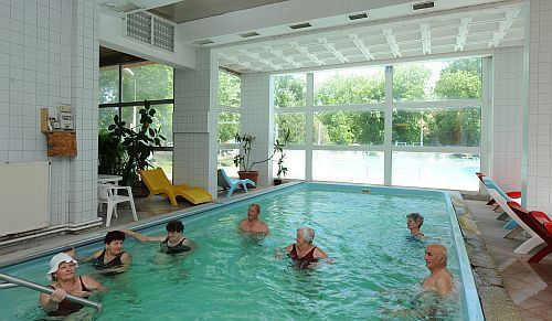Indoor thermal pool in Hajduszoboszlo - wellness weekend in Hungary - Hotel Hoforras