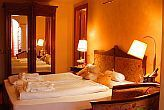 Romantic double room in Heviz in the 4-star Amira Wellness and Spa Hotel