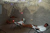 Salt cave of Zenit Hotel Balaton for asthmatic guests in Vonyarcvashegy