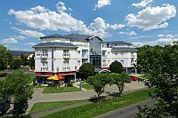 Kristaly Hotel Keszhely with panoramic view at Lake Balaton and wellness services