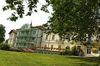 Hotel Spa Heviz - spa and thermal hotel in Heviz with low prices situated directly at the shore of Heviz Lake