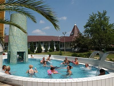 Adventure pool in Heviz, in Hunguest Hotel Helios