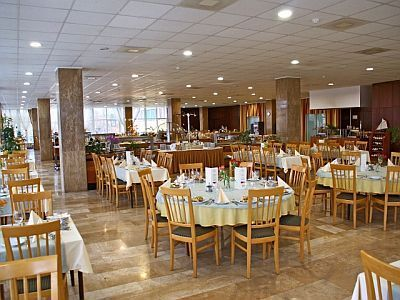 Restaurant of Hunguest Hotel Helios with half board