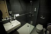 Nice bathroom of Wellness Hotel Bonvino in Badacsony, at Lake Balaton