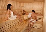 4* Hotel Balance's great sauna for those who loves wellness